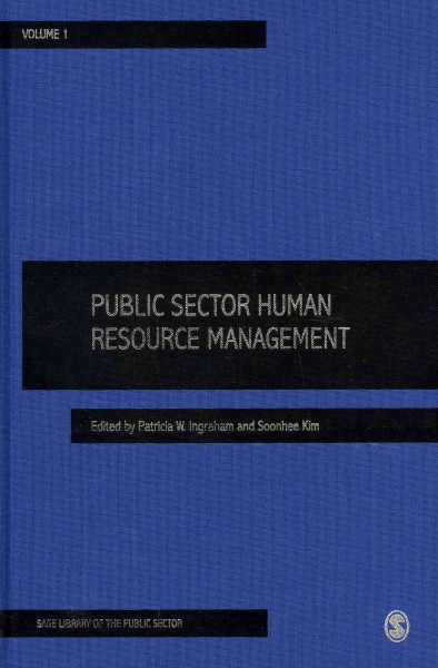 Public sector human resource management /