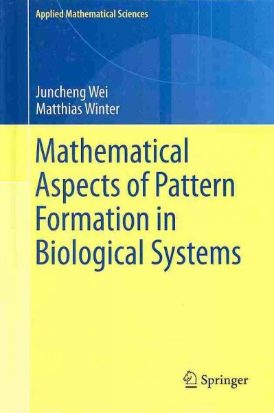 Mathematical aspects of pattern formation in biological systems