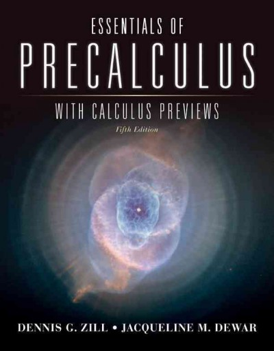 Essentials of precalculus with calculus previews /