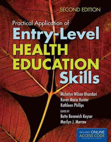 Practical application of entry-level health education skills /