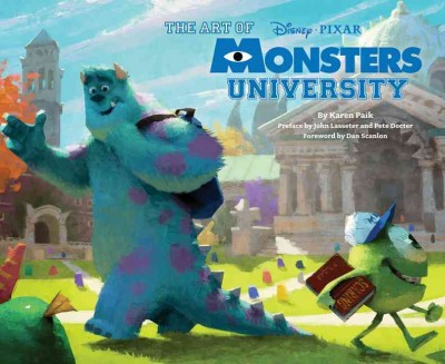 The art of Monsters university /