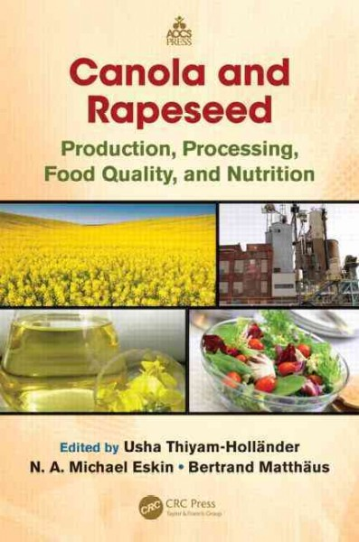 Canola and rapeseed : production, processing, food quality, and nutrition
