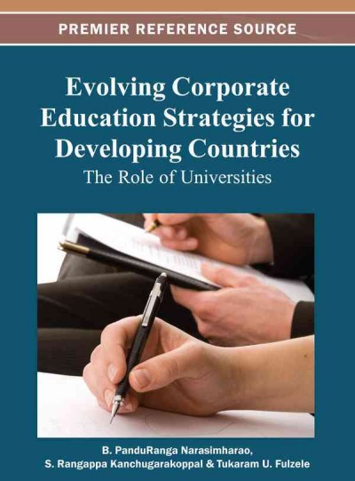 Evolving corporate education strategies for developing countries : the role of universities /