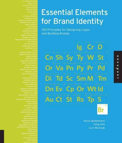 Essential elements for brand identity : 100 principles for designing logos and building brands /