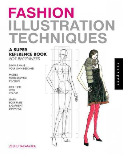 Fashion design techniques : : a super reference book for beginners