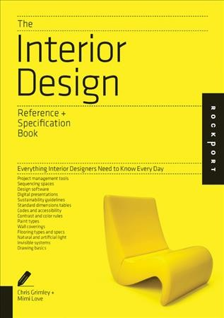 The interior design reference + specification book /