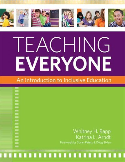 Teaching everyone : an introduction to inclusive education /