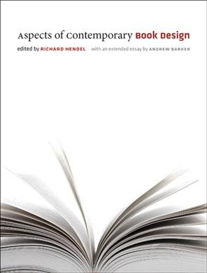 Aspects of contemporary book design /