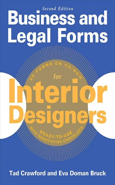 Business and legal forms for interior designers /