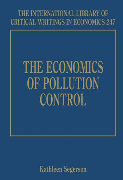 The economics of pollution control