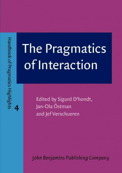 The pragmatics of interaction