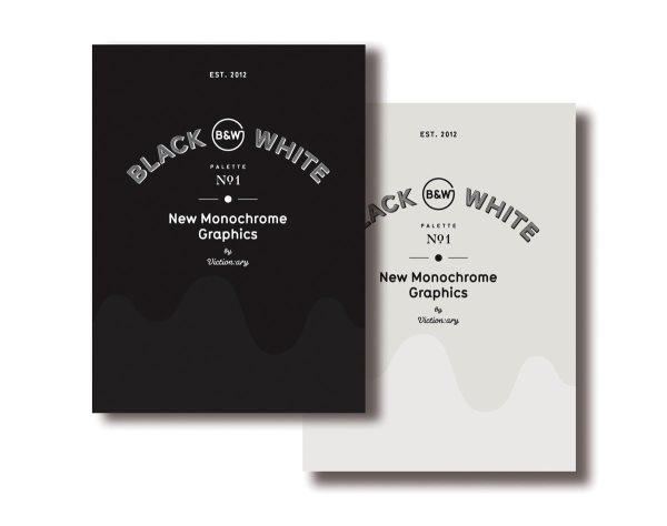 Black & white : new monochrome graphics /