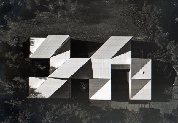 Casa AA- origami house : : OAB & partners- Carlos Ferrater- Xavier Marti.