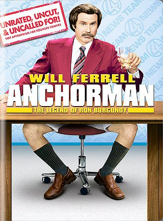 Anchorman: The Legend of Ron Burgundy (Unrated Widescreen Edition)