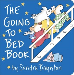 The Going to Bed Book: Lap Edition (Board Books)