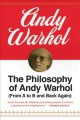 Show product details for The Philosophy of Andy Warhol : (From A to B and Back Again)
