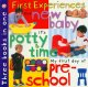 Show product details for 3 in 1: New Baby, Potty Time, Pre-school