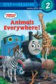 Show product details for Animals Everywhere! (Thomas & Friends) (Step into Reading)