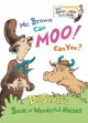 Show product details for Mr. Brown Can Moo! Can You? (Big Bright & Early Board Book)