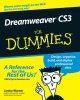 Show product details for Dreamweaver CS3 For Dummies