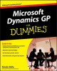 Show product details for Microsoft Dynamics GP For Dummies
