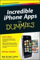 Show product details for Incredible iPhone Apps For Dummies