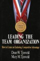 Show product details for Leading the Team Organization
