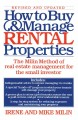 Show product details for How to Buy and Manage Rental Properties: The Milin Method of Real Estate Management for the Small Investor
