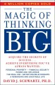 Show product details for The Magic of Thinking Big