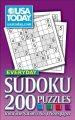 Show product details for USA TODAY Everyday Sudoku: 200 Puzzles from The Nation's No. 1 Newspaper
