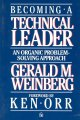 Show product details for Becoming a Technical Leader: An Organic Problem-Solving Approach