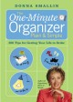 Show product details for The One-Minute Organizer Plain & Simple: 500 Tips for Getting Your Life in Order