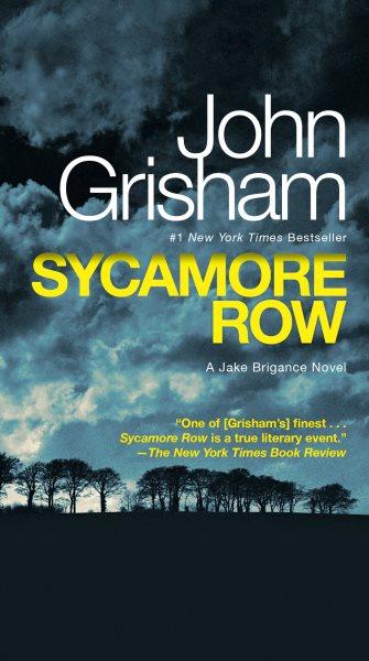 Sycamore Row : a novel