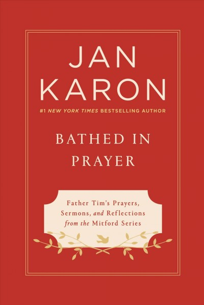 Bathed in prayer (large print)