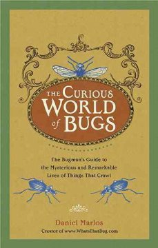 Cover image for The curious world of bugs : the bugman's guide to the mysterious and remarkable lives of things that crawl