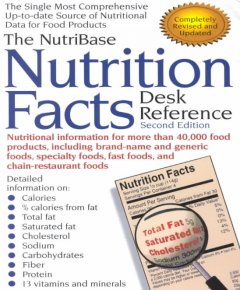 Cover image for The NutriBase nutrition facts desk reference.