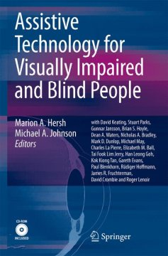 Cover image for Assistive technology for visually impaired and blind people