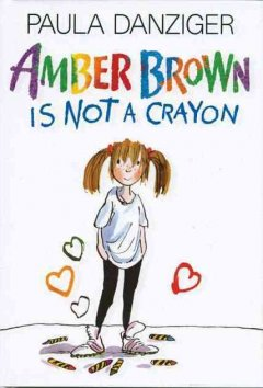 Bookjacket for  Amber Brown Is Not a Crayon