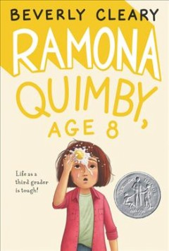 Bookjacket for  Ramona Quimby,. Age 8
