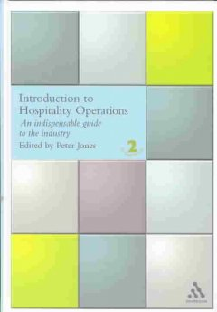 Cover art for Introduction to Hospitality Operations by Peter Jones