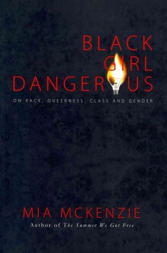 """Black background. The """"o"""" in the word """"dangerous"""" is a lightbulb that resembles a flame."""