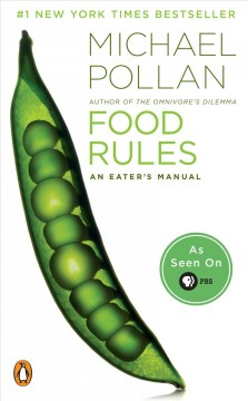 Book cover for Food Rules: An Eater's Manual