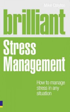 Book cover for Brilliant stress management: how to manage stress in any situation (eBook)
