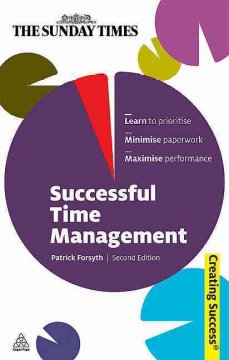 Book cover for Successful Time Management by Patrick Forsyth