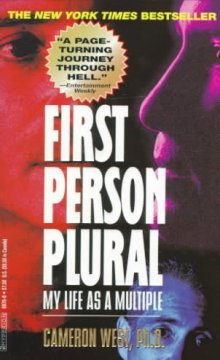 Book cover for First Person Plural: My Life as a Multiple