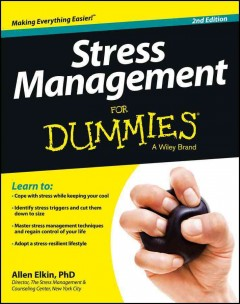 Book cover for Stress management for dummies (eBook)