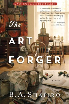 The Art Forger - Book Cover