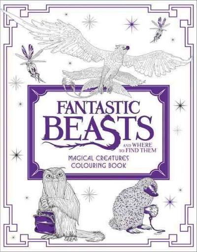 Fantastic Beasts Magic Creatures Colour