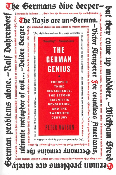 The German genius : Europe