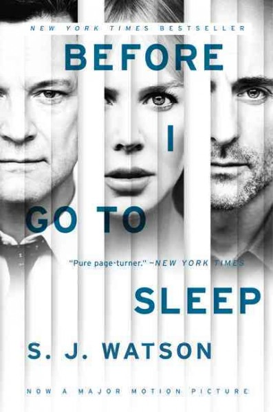 Before I Go to Sleep(Movie tie in)